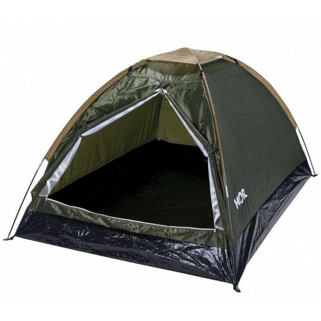 Barraca Camping Iglu 2 Pessoas Verde Acampamento Acampar Confortável Mor