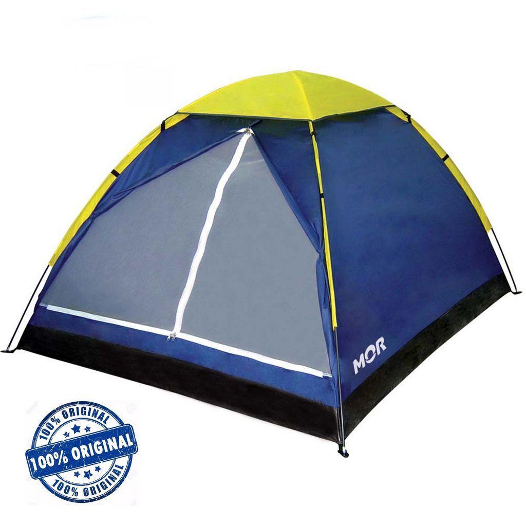 Barraca Camping Iglu 4 Pessoas Acampamento Grande Impermeável Mor