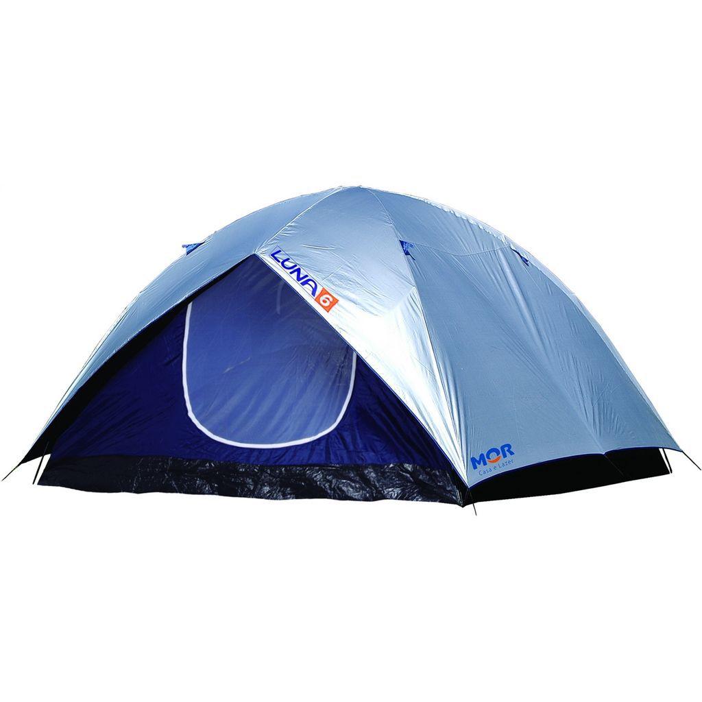 Barraca Camping Luna 6 Pessoas Poliéster Impermeável Mor