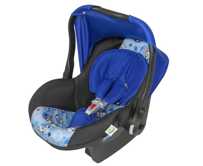 Bebe Conforto Menino Supreme  Azul Estampado Tutti Baby