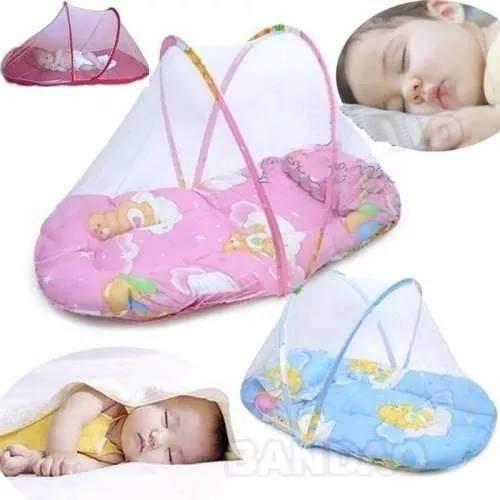 Berço Mosquiteiro para Bebês Cama Tenda Cercadinho Portátil Infantil