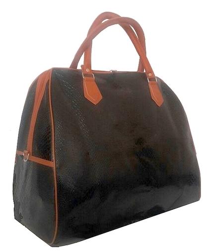 Bolsa De Viagem De Mão Feminina : Bolsa mala de viagem feminina preta social m?o l r