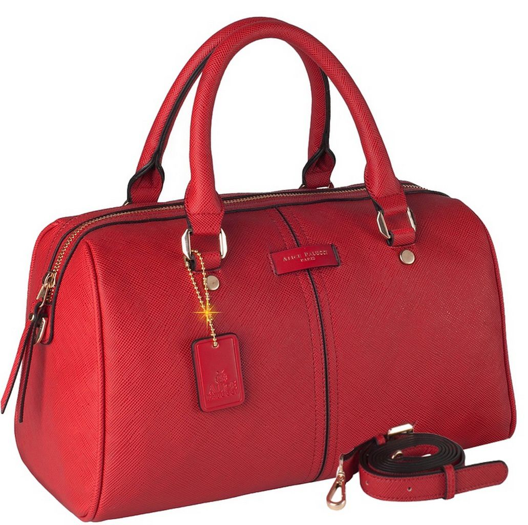 Bolsa Feminina Bau Alice Palucci Semax Transversal Tiracolo Vermelha AL8802VM