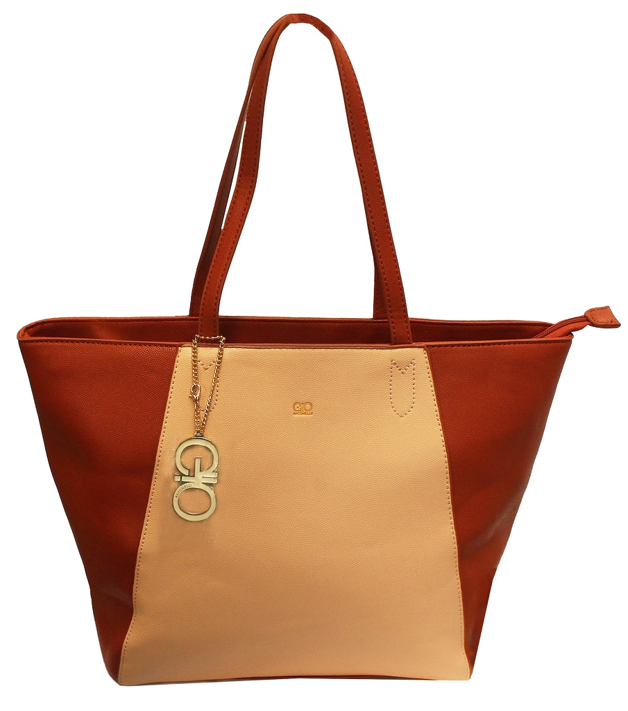 Bolsa Feminina Tote Bag Gio Antonelli Lateral Grande Semax Original