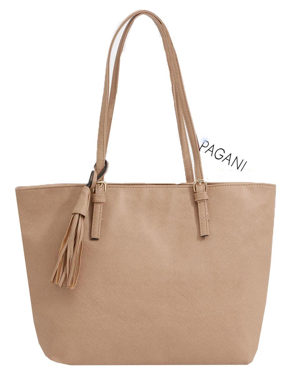Bolsa Feminina Tote Bag Grande Original Pagani Resistente Semax