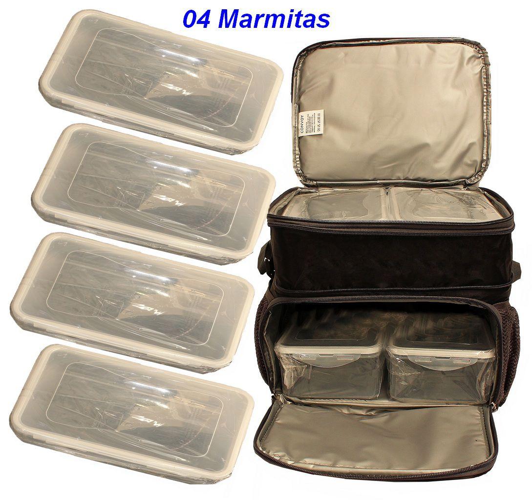 Bolsa Marmiteira Termica Fitness  alimentos