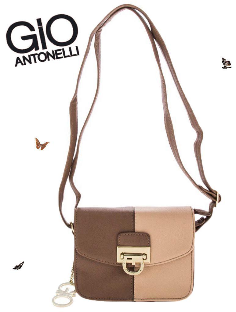 864136bf7 ... Bolsa Giovanna Antonelli Mini Bag Transversal Marrom GIO7801 -  Ditudotem ...