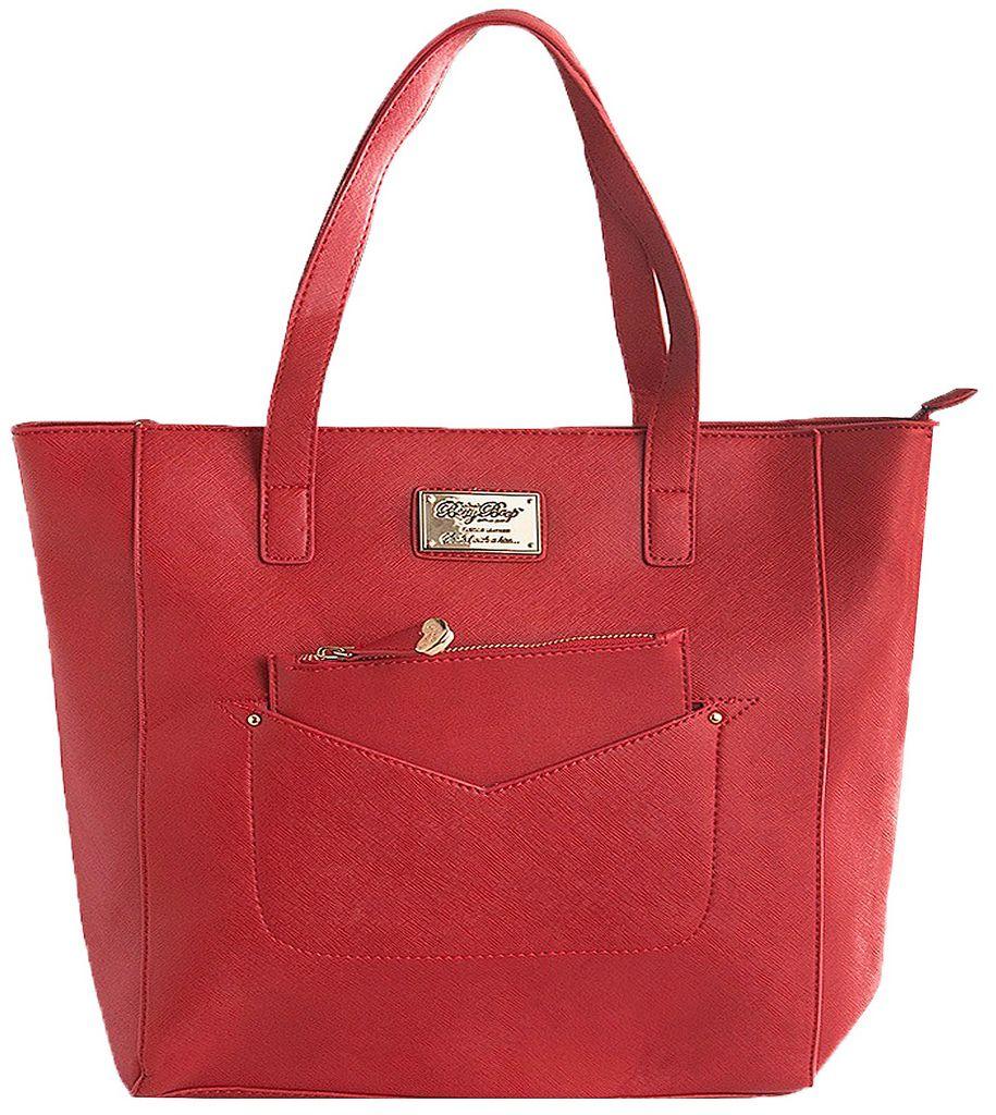 Bolsa Feminina Tote Bag Ombro Grande Vermelha Moda Semax Betty Boop Original
