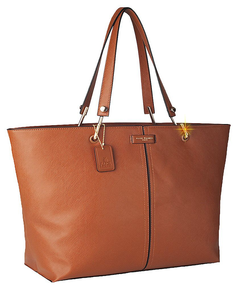 Bolsa Tote Bag Grande Work Now Alice Palucci Marrom AL8805MR