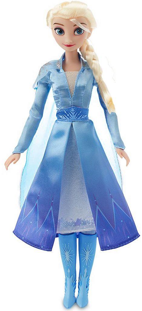 Boneca Articulada Elsa Frozen 2 Tamanho Médio Roupas Removíveis Macia Menina Divertida Bolhas De Sabão Lançamento Baby Brink