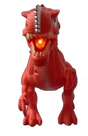 Brinquedo Dinossauro Tiranossauro Rex Articulado com Luz Som Movimentos Vermelho