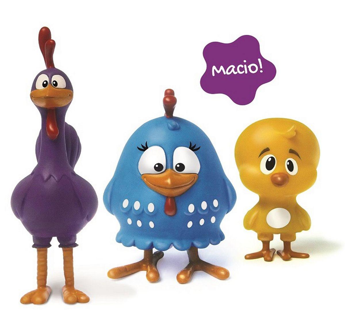 Brinquedo Família Galinha Pintadinha Infantil Bebê 18 Meses Bolhas De Sabão Atóxico Macio Menina Menino Original Elka
