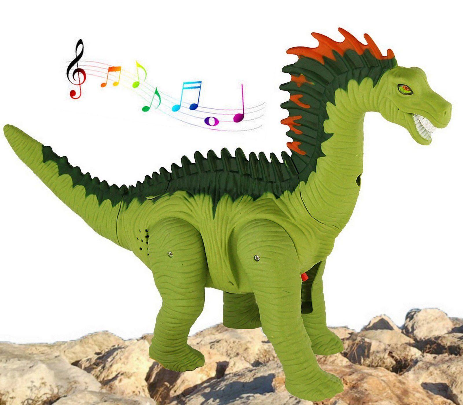 Brinquedo Infantil Dinossauro Coloca Ovos  Movimento Luz Som Eletrônico