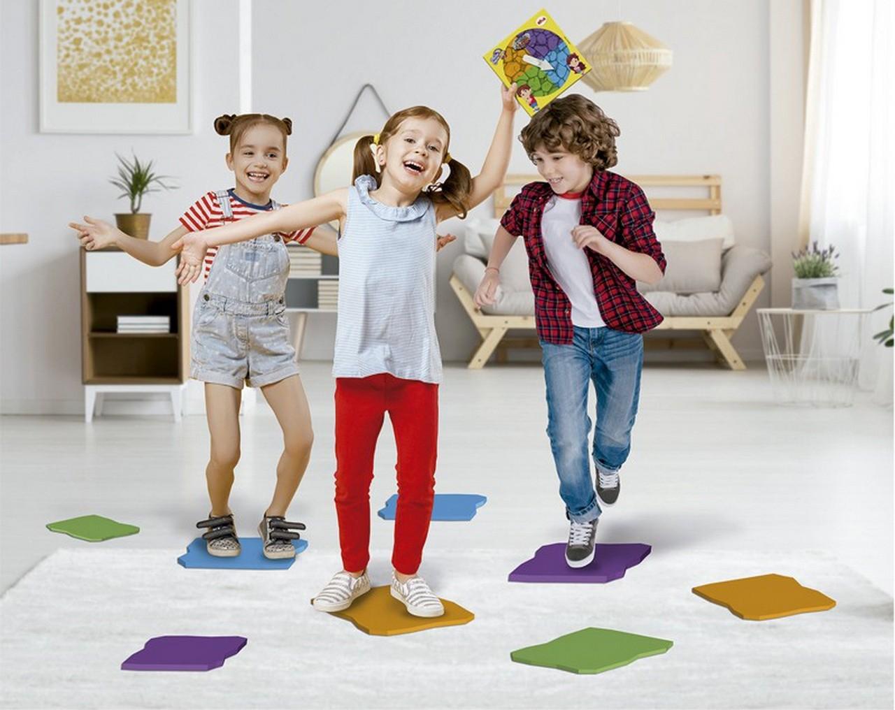 Brinquedo Infantil Meninas Meninos Jogo O Chão É Lava Maria Clara & Jp Divertido Elka Lançamento