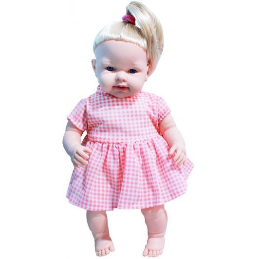 Brinquedos De Meninas Boneca Infantil Papinha Linha Quero Ser Mamãe Macia Grande Acessórios Colher Faca Pratinho Lançamento Pupee