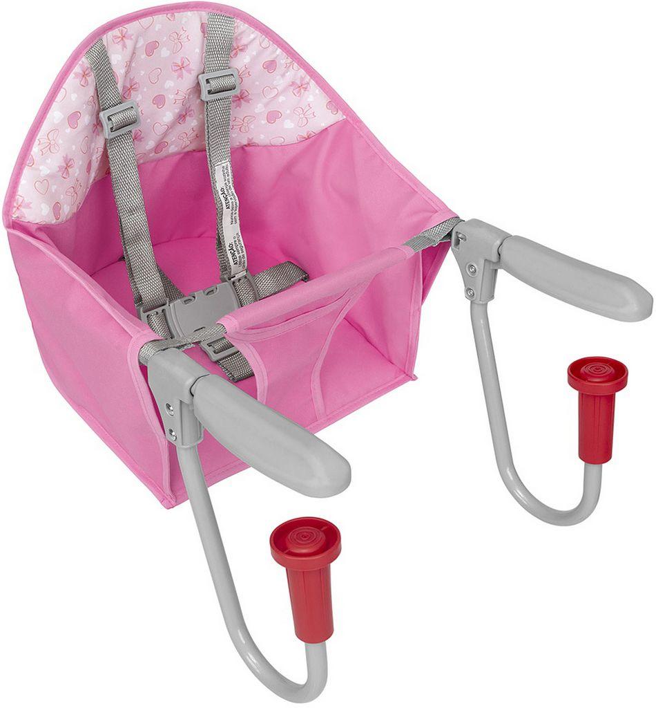 Cadeira De Refeição Para Mesa Fit Rosa Lacinho Menina Resistente Tutti Baby Original 2019