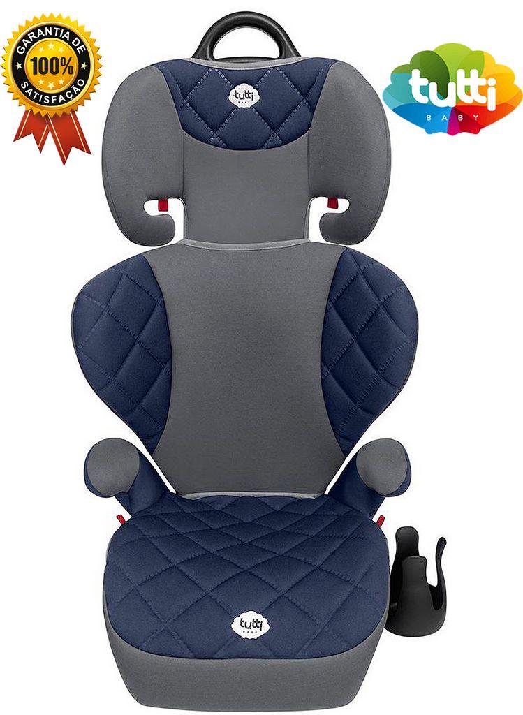 Cadeirinha Carro Infantil Triton Azul Menino 15Kg Á 36Kg Original Tutti Baby