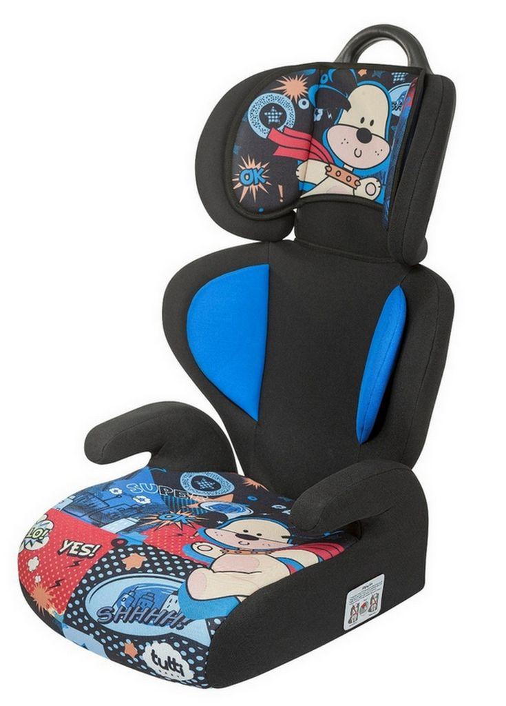 Cadeirinha De Carro Azul Temática Menino Tutti Baby 15Kg à 36Kg