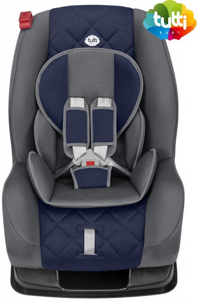 Cadeirinha De Carro Infantil Poltrona 3 Posições 9kg a 25kg Acolchoada Azul Menino Tutti Baby Original