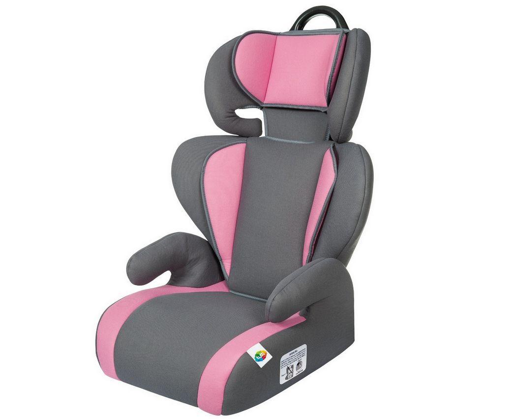 Cadeirinha De Carro Rosa Para Menina Safety e Comfort Tutti Baby