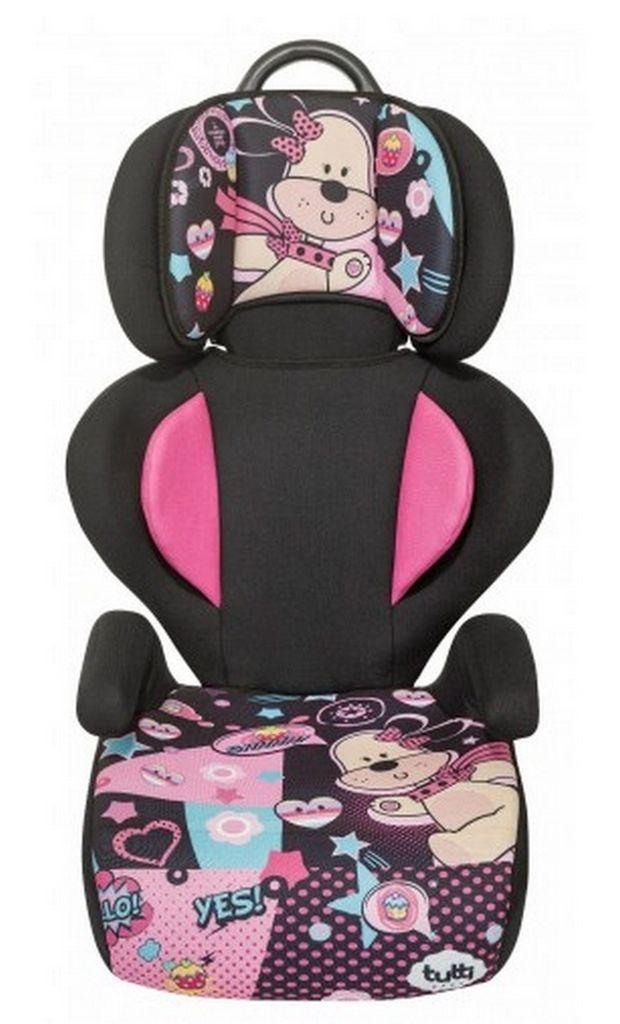 Cadeirinha De Carro Rosa Temática Menina Tutti Baby 15Kg à 36Kg