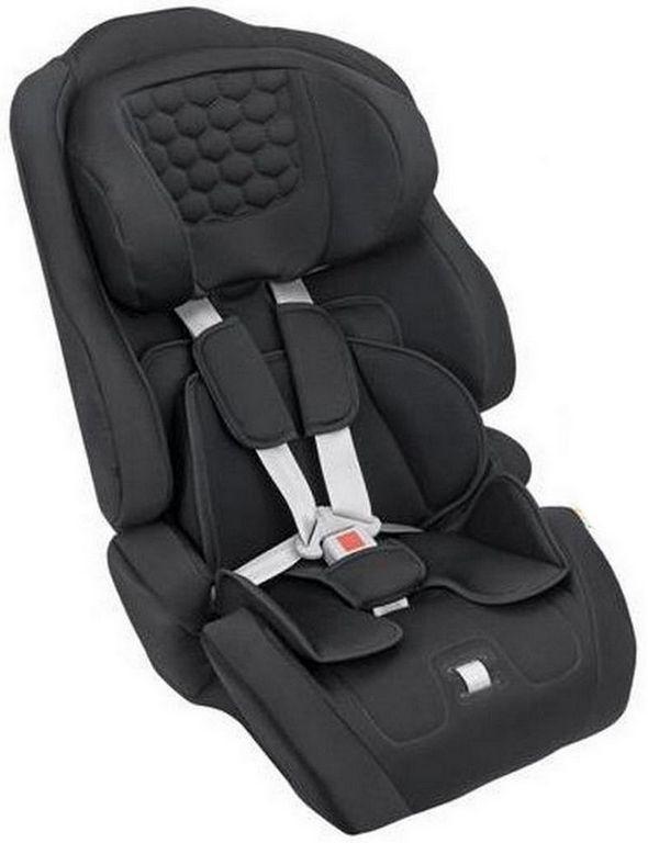 Cadeirinha Infantil Preta de Carro 9 a 36Kg Menino e Menina Ninna Tutti Baby