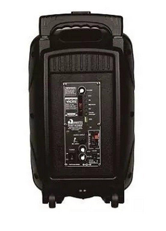 Caixa Acústica Amplificada Vicini 80w Rms Mp3 Sd Bluetooth VC-7080