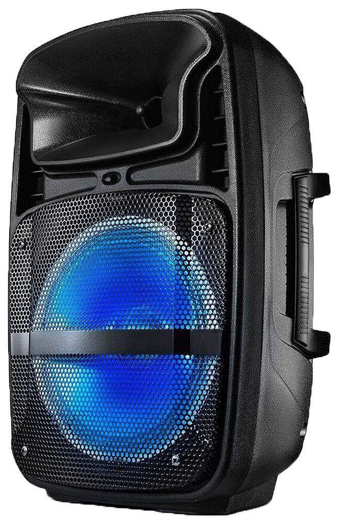 Caixa De Som Multilaser Amplificada Bluetooth Usb Sd Auxiliar Bivolt 80w Portátil Rádio Fm Bateria