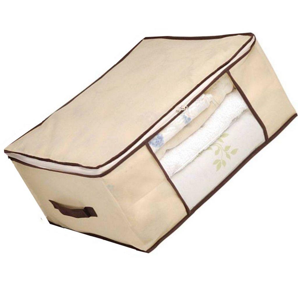 Caixa Multiuso Polipropileno 60 X 45 X 30 Cm Visor Transparente KEHOME