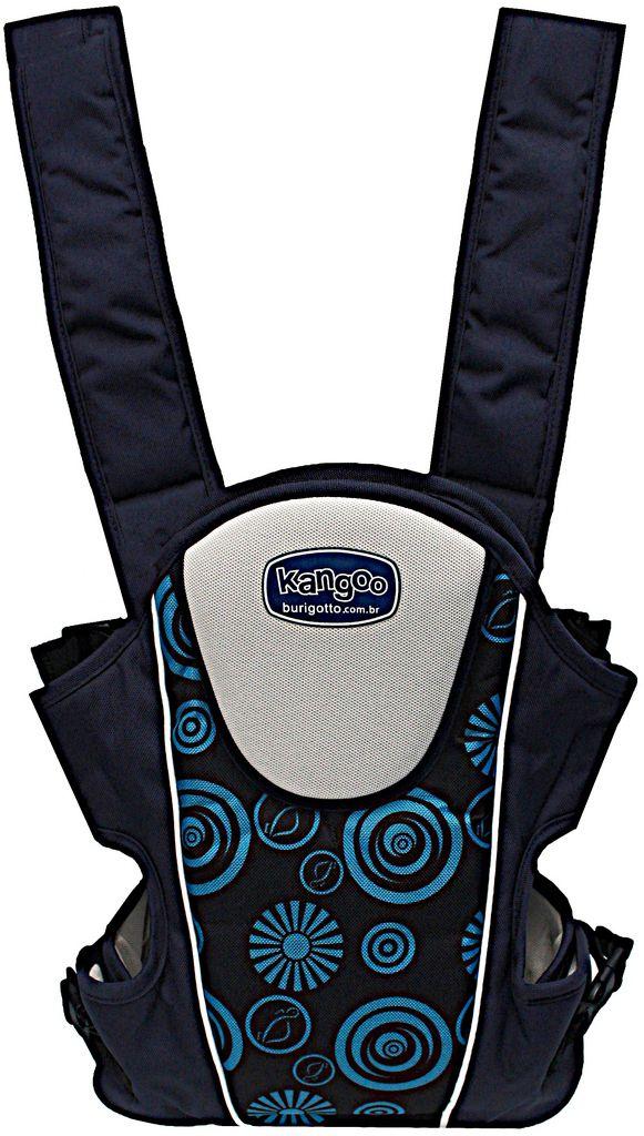 Canguru Kangoo Azul Escuro Reforçado 3 Posições Alças Acolchoadas Original Burigotto