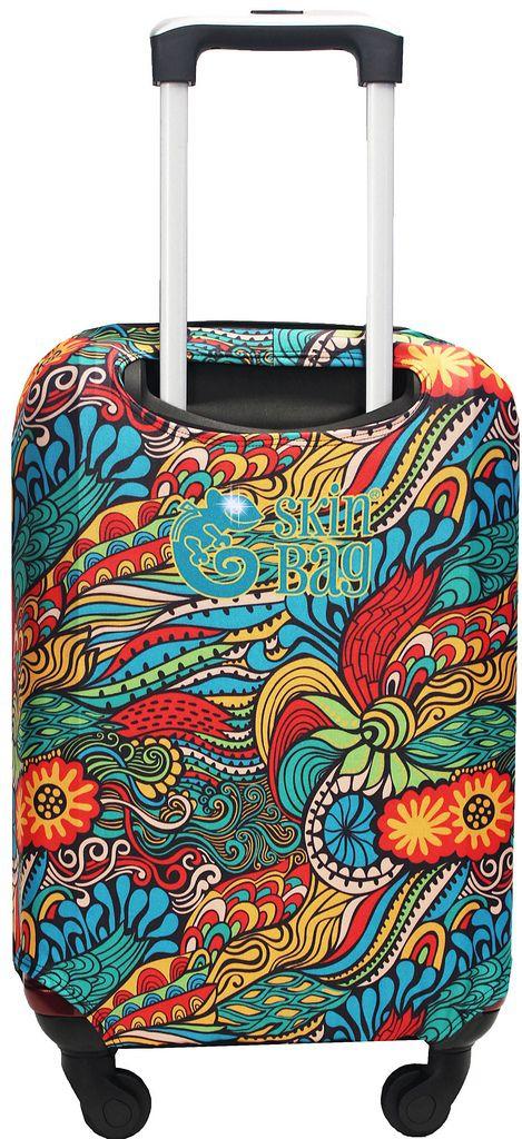 Capa Protetora Para Mala De Viagem Jungle Mosaico Mandala Resistente Selva Moderna Feminina Tamanho Pequeno Versátil Lançamento Original Skin Bag
