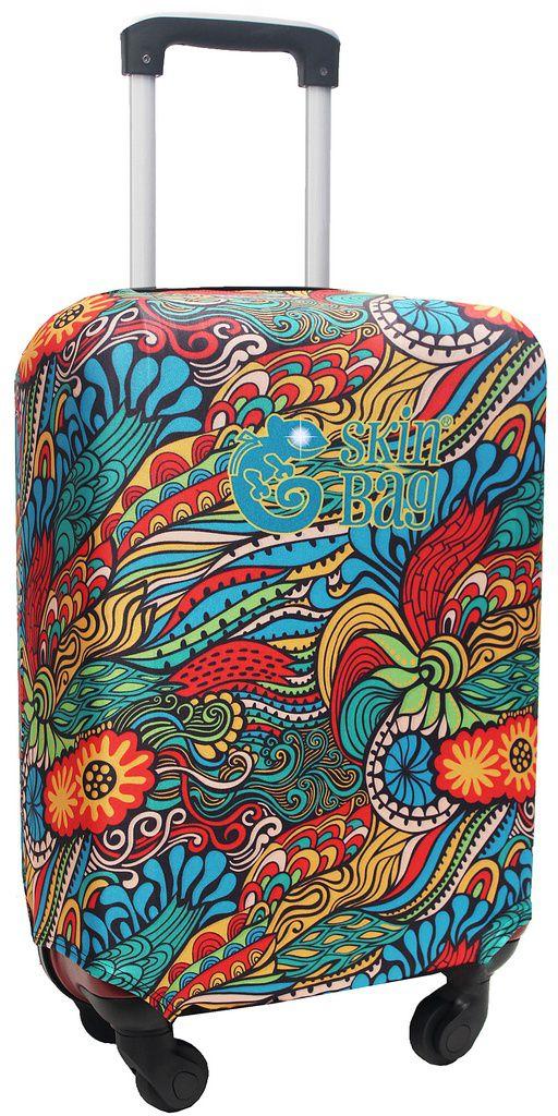 Capa Protetora Para Mala De Viagem Mosaico Jungle Selva  Resistente Flores Moderna Unissex Tamanho Grande Versátil Lançamento Original Skin Bag