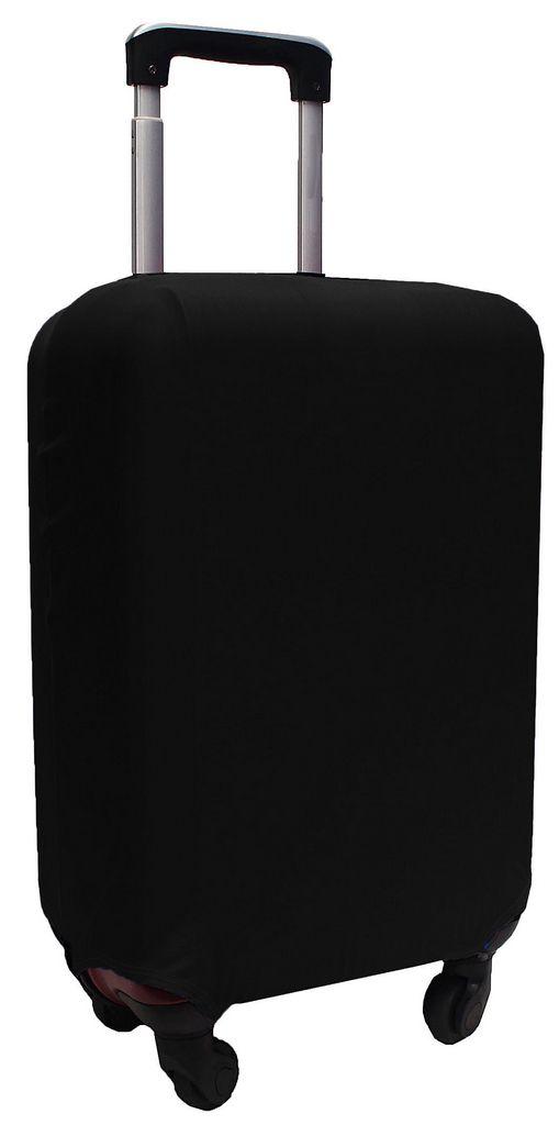 Capa Protetora Para Mala Estampa Lisa Black Preto Resistente Moderna Feminina Tamanho Pequena Versátil Lançamento Original Skin Bag