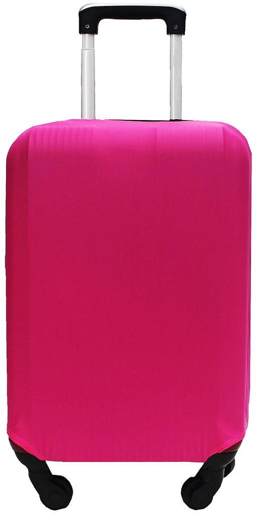 Capa Protetora Para Mala Estampa Lisa Pimenta Rosa Pink Resistente Moderna Feminina Tamanho Grande Versátil Lançamento Original Skin Bag