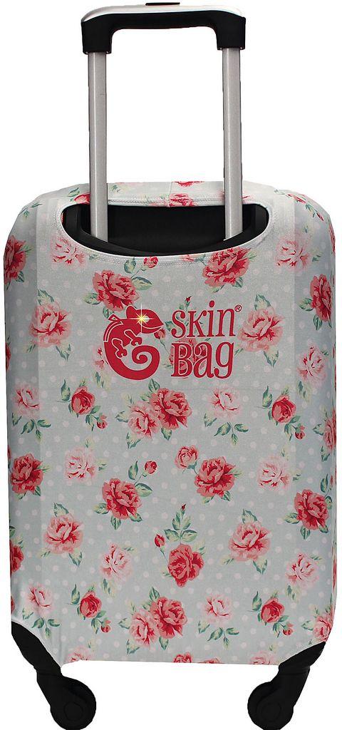 Capa Protetora Para Mala Floral Flowers Resistente Poá Moderna Feminina Tamanho Grande Versátil Lançamento Original Skin Bag