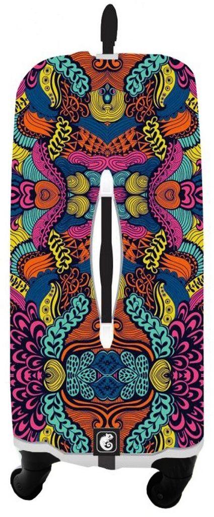 Capa Protetora Para Mala Indian Resistente Moderna Feminina Tamanho Grande Versátil Lançamento Original Skin Bag