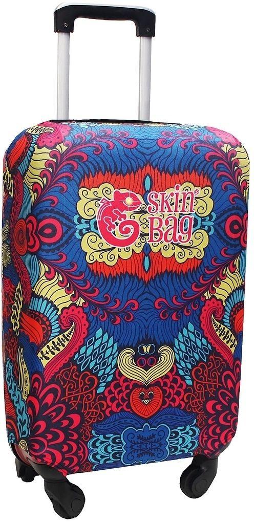 Capa Protetora Para Mala Indian Resistente Moderna Feminina Tamanho Médio Versátil Lançamento Original Skin Bag