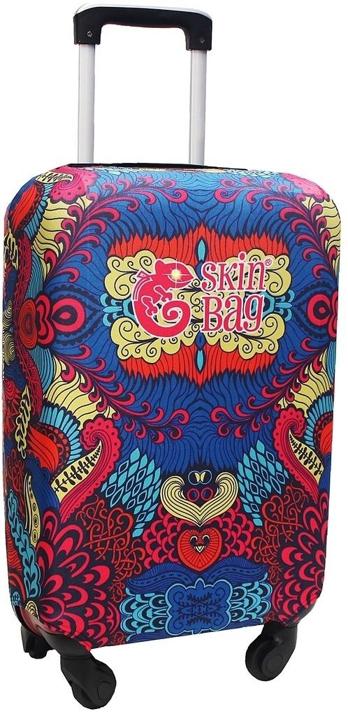 Capa Protetora Para Mala Indian Resistente Moderna Feminina Tamanho Pequena Versátil Lançamento Original Skin Bag