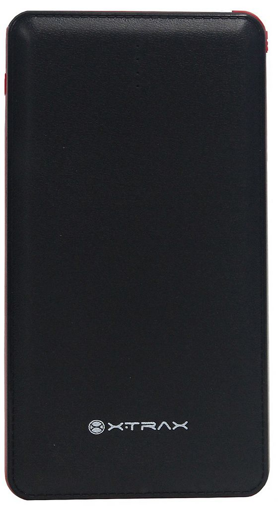 Carregador Portátil Universal 10000 mAh Para Celular 3 Conectores Usb Tipo C Apple Android Iphone Power Bank Preto Xtrax Original