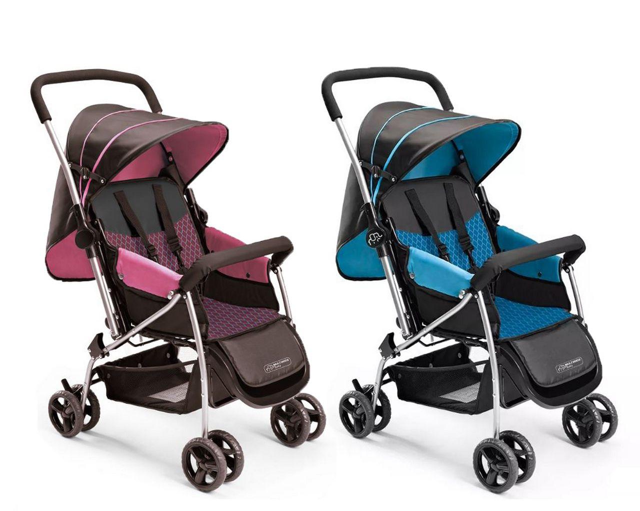 Carrinho De Bebê Berço Flip Multikids Baby Multilaser