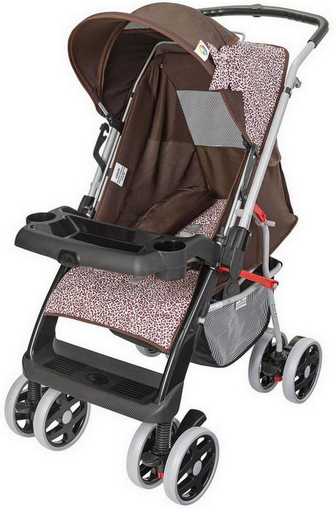 Carrinho De Bebê Conforto Passeio Thor Plus Rosa Tutti Baby