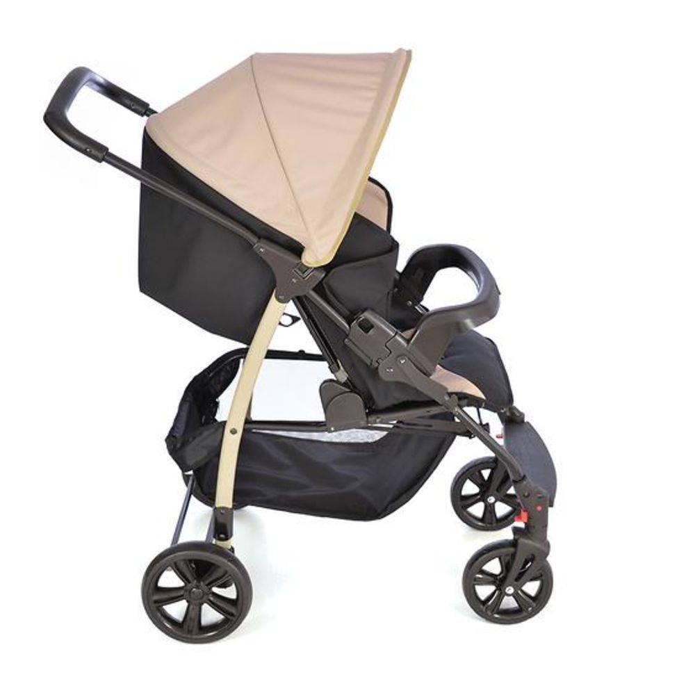 Carrinho De Bebê Ecco-capuccino Burigotto Até 15 Kg