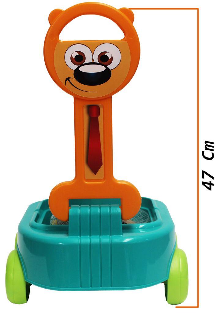 Carrinho De Puxar Com Blocos De Montar Bolhas De Sabão Praia Cachorrinho Infantil Educativo Rodinhas Resistente Original Gulliver Activity