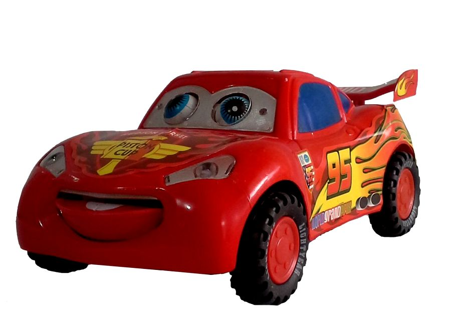 Carro Relâmpago Mcqueen Bate e Volta C/ Música Brinquedo