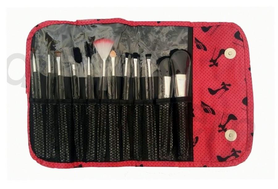 Case de Pinceis de Maquiagem 12 Peças