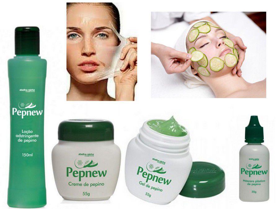 Combo Tratamento Facial Natural  Pepnew - Abelha Rainha