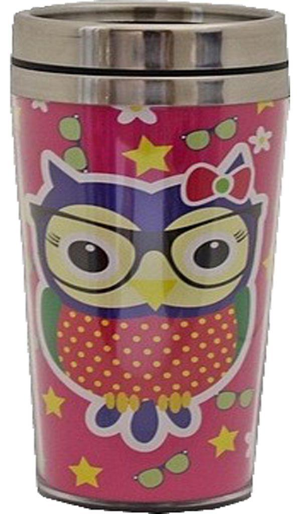 Copo Caneca Grande Térmico C/ Tampa Vedada Caneca Bebida Café Inox