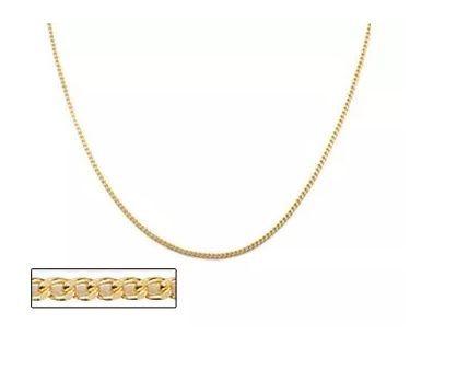 Cordão Rommanel Fio Grumet Lixado 50 cm Folh a Ouro 530294