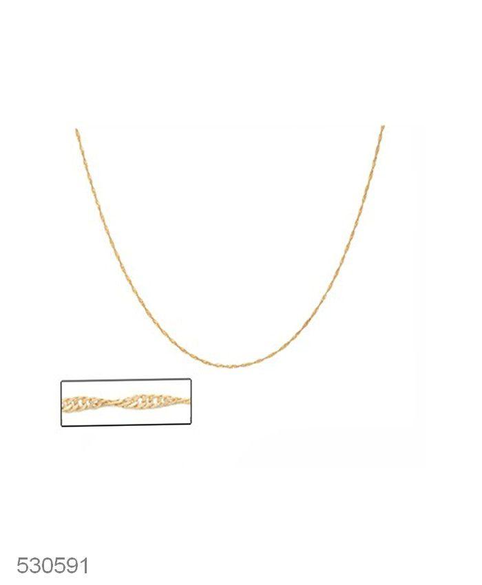 Corrente Fio Rommanel Cingapura 50cm 530591