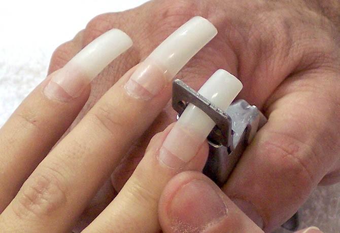 Cortador Alicate P/ Tips Gel Acrigel Porcelana